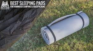 best sleeping pads for hammock camping u0026 backpacking 2017
