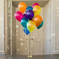 party balloons pack of 14 rainbow party balloons party wedding rainbow