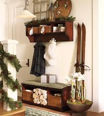 christmas decorations for your staircase and hall chatelaine