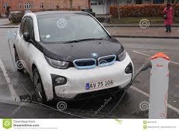 electric cars bmw bmw electric car editorial stock photo image of benhavn 86579753