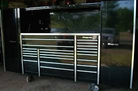 Tool Box Top Hutch Snap On Tool Box 3 Bay 2 Side Cabs Top Hutch Stainless Steel Top