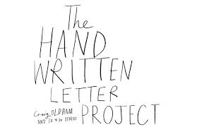 it u0027s nice that the hand written letter project