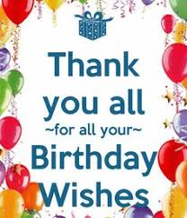thank you for my birthday wishes quotes birthdays
