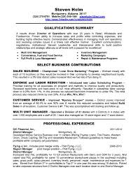 Retail Manager Resume Example Retail Manager Cv Template Retail Store Manager Resume Samples