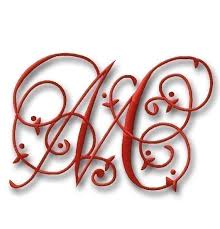 three letter monogram fancy monograms specialized monograms personalized monograms