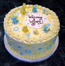 baby shower sheet cake this as one cake that was the little
