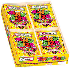 where to buy chiclets gum chiclets tiny size flavor coated 0 5 oz gum 20 pk box reviews