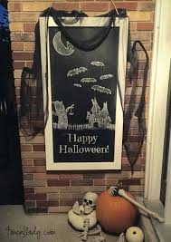 diy halloween shrouds