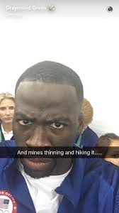 draymond green gives in depth analysis of team usa u0027s hairlines