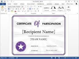 sample certificate of appreciation template certificate template