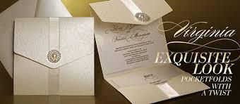 folded wedding invitations wedding invitation pocket fold amulette jewelry