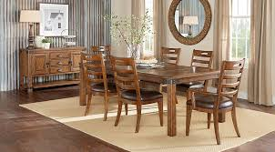 discount dining room sets eric church highway to home heartland falls brown 5 pc rectangle