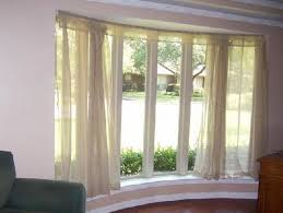 Bow Windows Inspiration Beautiful Bow Window Curtain Rods Measuring Guide To Inspiration