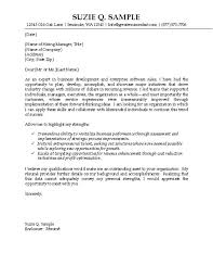 exle of cover letter for a resume it sales cover letter exle technology professional