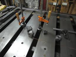Welders Bench - welding table design