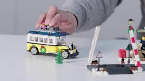 winter station lego creator expert 10259 designer