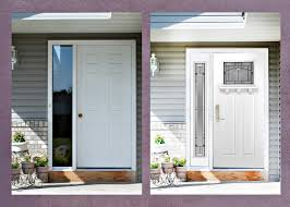 Fiberglass Exterior Doors For Sale Entry Doors With Sidelights Lowes Therma Tru Fiberglass Exterior