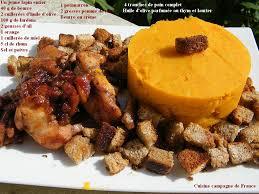 cuisiner lapin entier cuisine et cagne de lapin arlequin et sa purée de potimarron