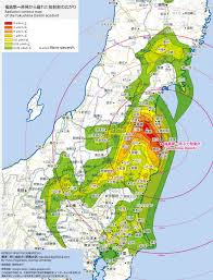 Maps Google Cmo Radiation Contour Map Of The Fukushima Daiichi Accident This Is