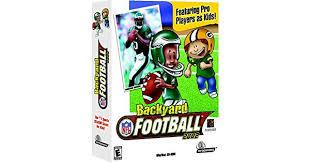 Backyard Football 2002 Backyard Football 2002 Amazon Ca Computer And Video Games