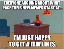 Spiderman Table Meme - spiderman computer desk meme imgflip