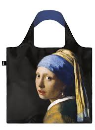 girl with a pearl earrings loqi vermeer girl with a pearl earring c 1665 bag loqi llc