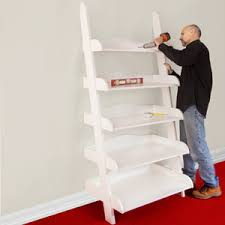 Wooden Ladder Bookshelf Plans by Ladder Shelf Step By Step Plans U2013 Ladder Shelf Plans
