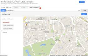 City Of Boston Map by Google Fusion Tables Turn A Spreadsheet Of Addresses Into Dots
