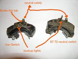 neutral safety switch van wiring the 1947 present chevrolet