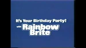 Brite View Window Cleaning Birthday Nostalgia Hell It U0027s Your Birthday Party With Rainbow