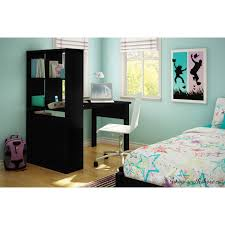 Dorm Desk Bookshelf South Shore Annexe Work Table And Storage Unit Combo Multiple