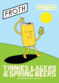 beer cheers cartoon froth craft beer magazine by froth issuu