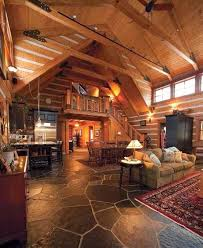 Interior Log Home Pictures by 322 Best Cabin Interior Design U0026 Decor Images On Pinterest Cabin