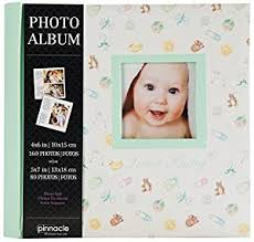 pearhead side photo album 2up frame front sweet baby photo album home kitchen