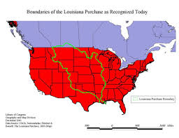 usa map louisiana purchase a question of boundaries louisiana european explorations and