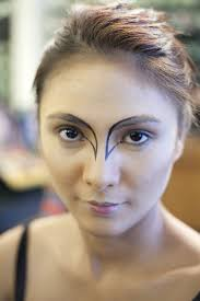 black contacts halloween black swan costume makeup ideas