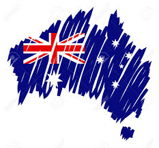 Australian States Map by 3 159 Australian States Stock Vector Illustration And Royalty Free