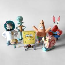 spongebob u0026 friends papercraft u2013 the whole collection 9 steps