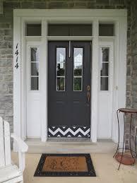 home decor plates chevron door kick plate deck the door decor