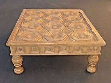 Carved Coffee Table Spanish Coffee Table Antique Furniture Ebay