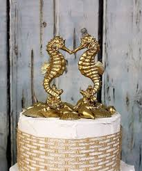 seahorse cake topper 7 best dog wedding cake topper images on dog wedding