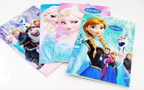 frozen cartoon 5 5x4 kids coloring book stickers drawing book