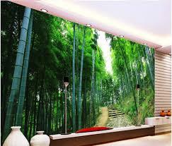 online get cheap 3d mural wallpaper bamboo aliexpress com