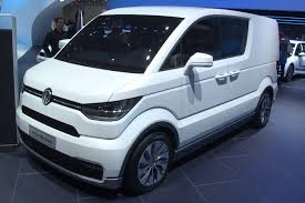 volkswagen electric concept vw e blue motion electric concept van eco minded surfer climber