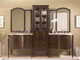 Double Sink Vanities For Small Bathrooms by Bathroom Cabinet Ideas Modest Astonishing Home Office Decor Best