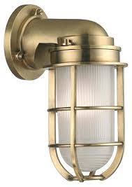Nautical Wall Sconce Nautical 1 Light Bathroom Wall Sconce Outdoor Lighting Inside