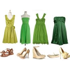 color help for mismatched bridesmaids dresses weddingbee green