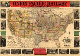 map us railways historical map of the united states union pacific railway 1883