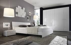 schlafzimmer weiß grau haus design ideen