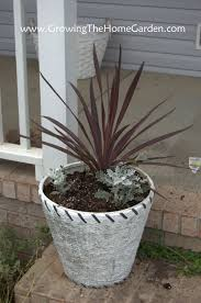 simple potting arrangement for the front porch growing the home